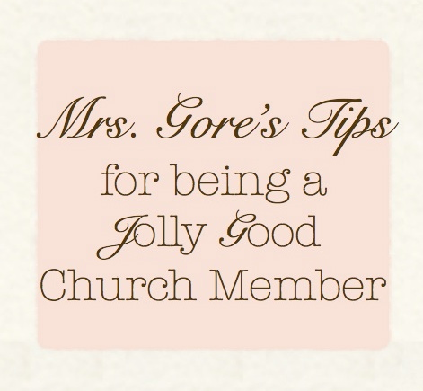 simple (and biblical) guidance for maintaining a healthy attitude at church