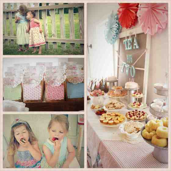 a birthday tea party