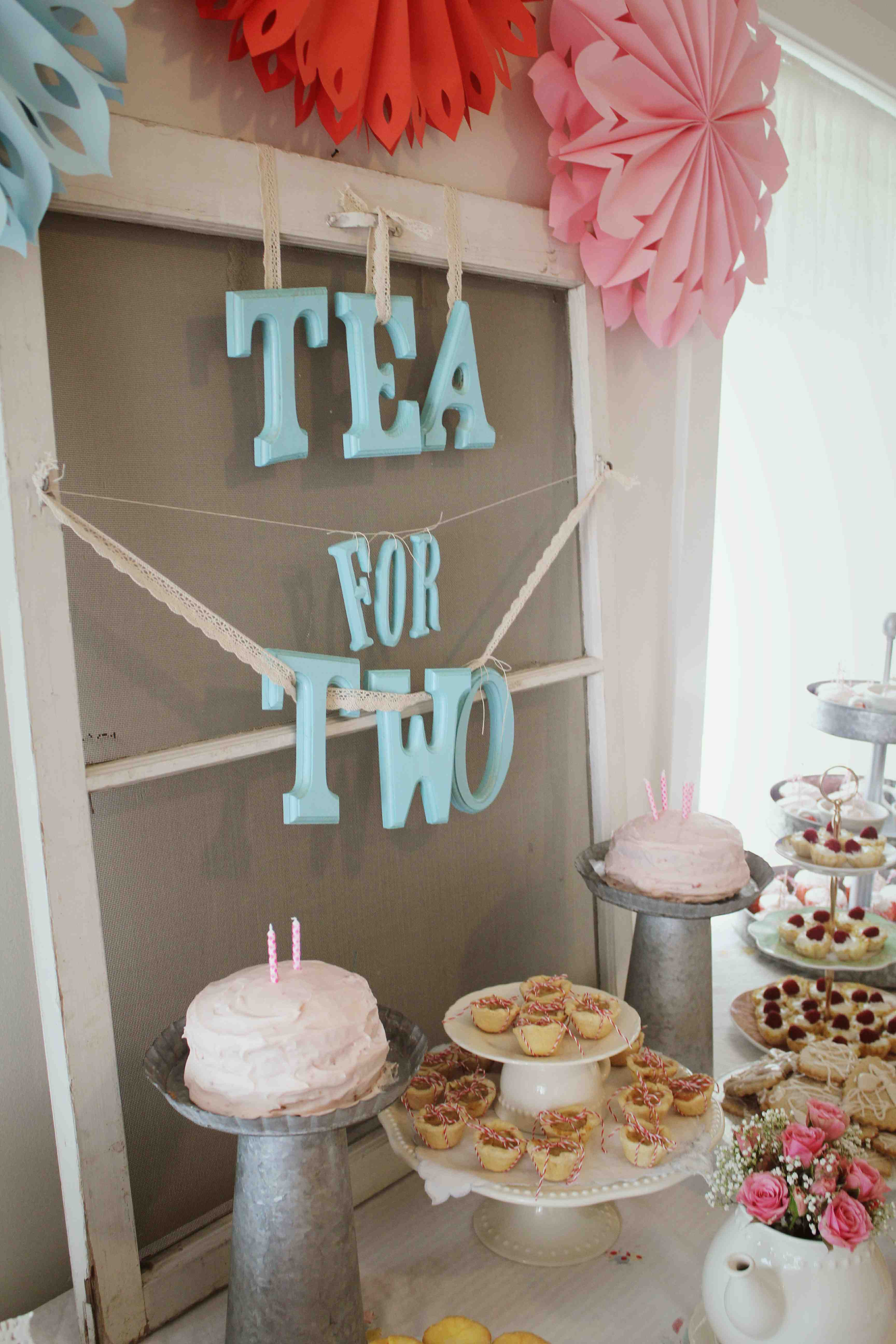 A Tea For Two Birthday Party