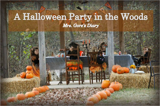 A Halloween Party in the Woods