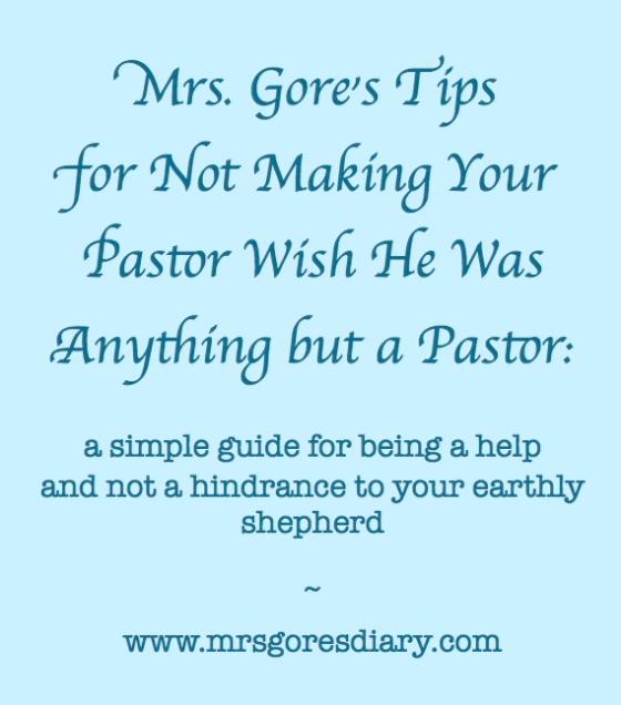 pastor tips