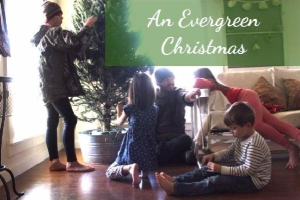 An Evergreen Christmas.An Evergreen Christmas